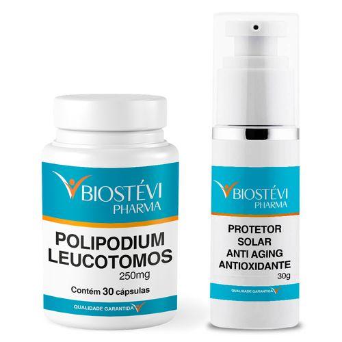 Kit-Polipodium-Leucotomos---Protetor-Solar-Anti-aging-Antioxidante