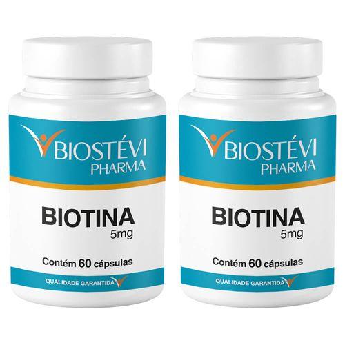 Kit-2-potes-biotina-5mg-60capsulas
