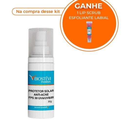 Kit-protetor-solar-anti-acne-uva-uvb-ir-30g